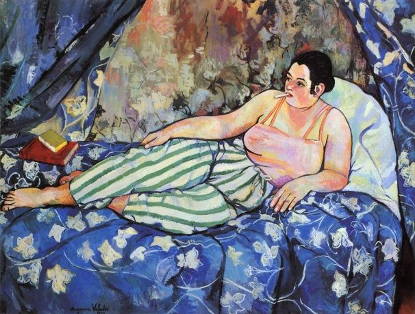 le chambre bleue susane valadon